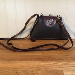 NWOT Unique Brighton Crossbody/Clutch